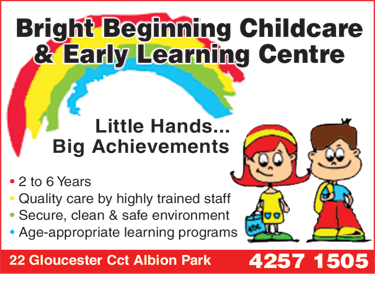 Bright Beginning Childcare & Early Learning Centre
