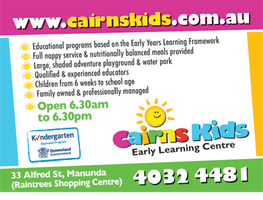 Cairns Kids Early Learning Centre
