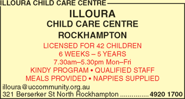 Illoura Child Care Centre