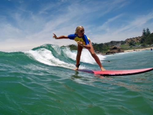 Surf Lessons with Port Macquarie Surf School