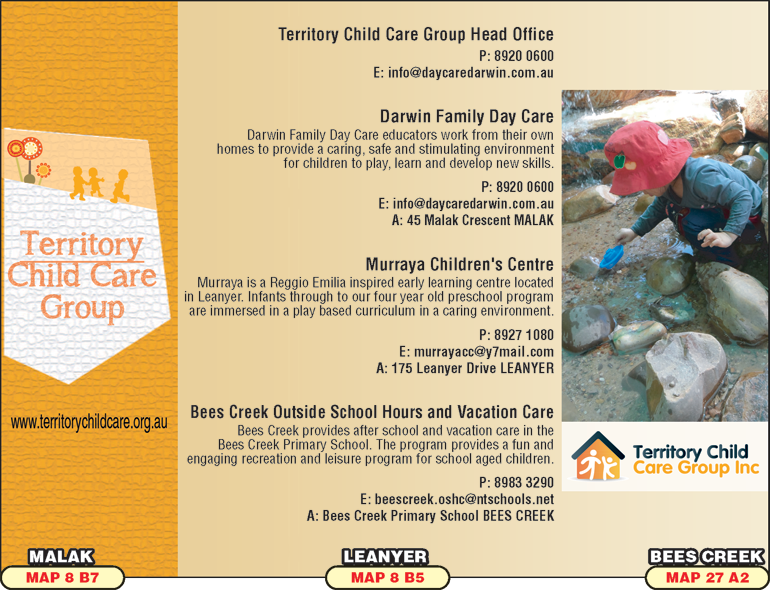 Territory Child Care Group Inc