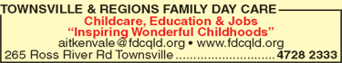 Townsville & Regions Family Day Care
